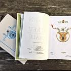 kniha Hra o trůny a Střet králů (kožená vazba)